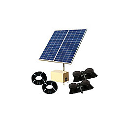 Outdoor Water Solutions Solar Pond Aerator 3 AerMaster Direct Drive Aeration System