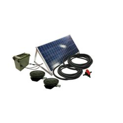 Outdoor Water Solutions Solar Small Pond Aerator 2 Direct Drive System