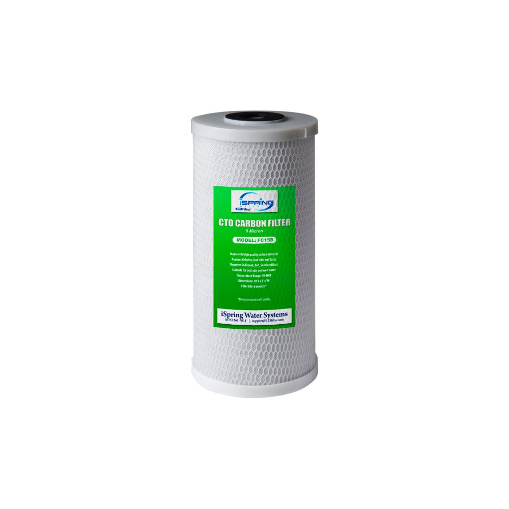 """4.5/"""" x  20/"""" Cartridges 4 Big Blue CTO Carbon Block Replacement Water Filters"""