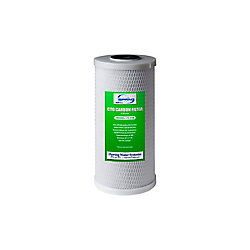 iSpring 10 inch 5-Micron Big Blue Carbon Block (CTO) Water Filter Replacement Cartridge