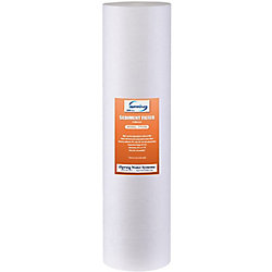 iSpring 123Filter 20 inch x 4.5 inch 5 Micron Big Blue Sediment Water Filter Replacement Cartridge
