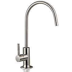 European Designer Drinking Water Faucet in Brushed Nickel