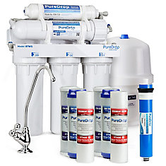 5 Stage Reverse Osmosis Water Filtration System with Pre-Filter Kit