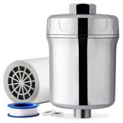 iSpring Filtre de douche à 5 étapes élimine plus de 200 contaminants