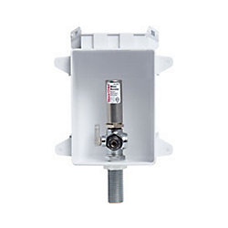Sioux Chief OxBox Ice Maker Outlet Box with Water Hammer Arrester by