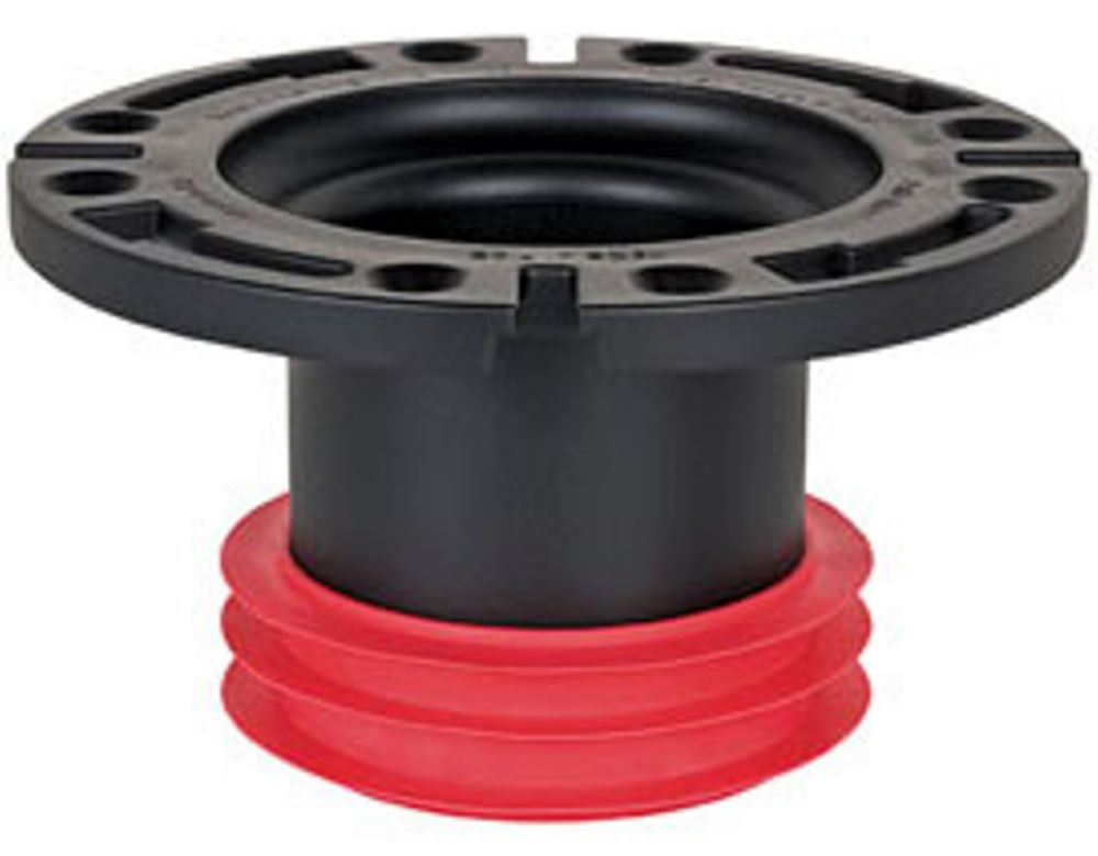 Sioux Chief Push-Tite Closet Flange by Sioux Chief:  for 4 inch. DWV Pipe