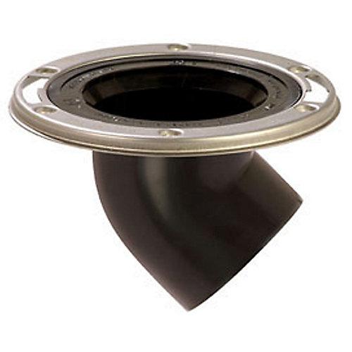 Offset Closet Flange by : 3-inch Spigot, Flush to Floor