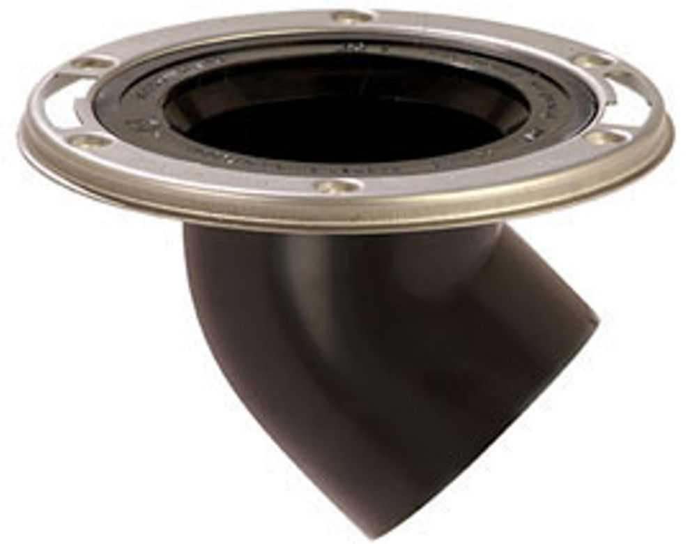 Sioux Chief Offset Closet Flange by Sioux Chief: 3 inch. Spigot, Flush to Floor