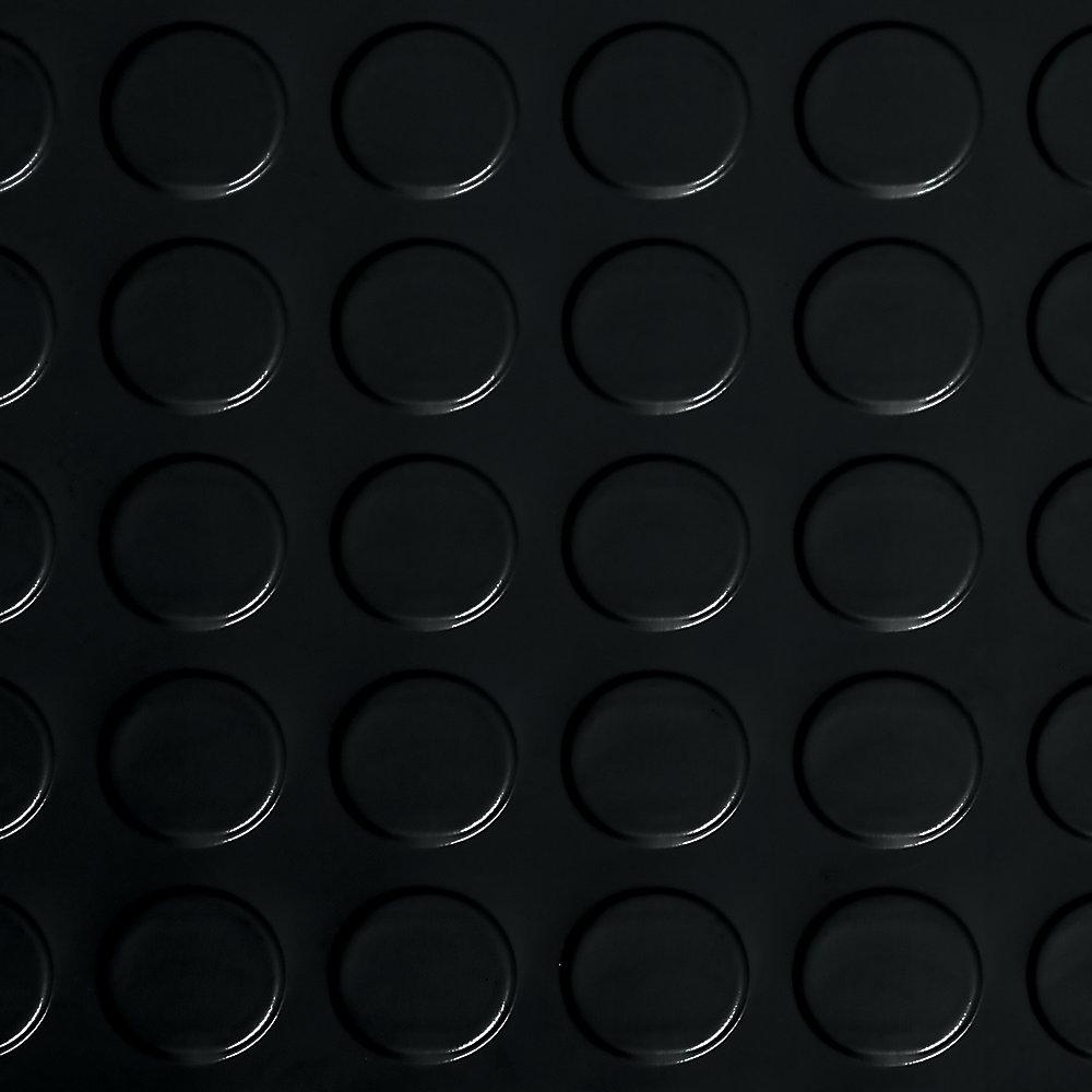 Coin 10 Ft X 24 Ft Midnight Black Commercial Grade Vinyl