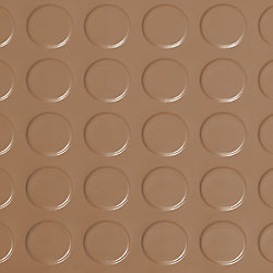 G-Floor Coin 10 ft. x 24 ft. Sandstone Commercial Grade Vinyl Garage Flooring Cover and Protector