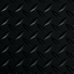G-Floor Diamond Tread 5 ft. x 10 ft. Midnight Black Commercial Grade Vinyl Garage Floor Cover and Protector