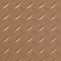 G-Floor Diamond Tread 7.5 ft. x 17 ft. Sandstone Commercial Grade Vinyl Garage Flooring Cover and Protector