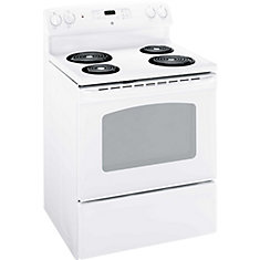 30-inch 5.0 cu. ft. Single Oven Electric Range in White