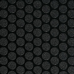 G-Floor Small Coin 8.5 ft. x 22 ft. Midnight Black Vinyl Garage Flooring Cover and Protector