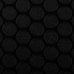 G-Floor Small Coin 10 ft. x 24 ft. Midnight Black Vinyl Garage Flooring Cover and Protector