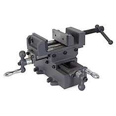 3.25  inch Compound Cross Slide Industrial Strength Benchtop and Drill Press Vise