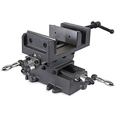 4.25  inch Compound Cross Slide Industrial Strength Benchtop and Drill Press Vise