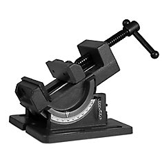 3.25  inch Industrial Strength Benchtop and Drill Press Tilting Angle Vise