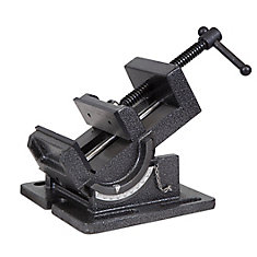 4.25  inch Industrial Strength Benchtop and Drill Press Tilting Angle Vise