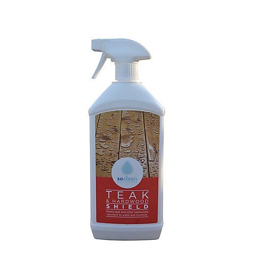 Nettoyeur-protecteur pour teck et bois dur