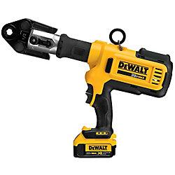 DEWALT 20V MAX Press Tool Kit (4.0 Ah) with 2 Batteries, 6 Heads and Kit Box
