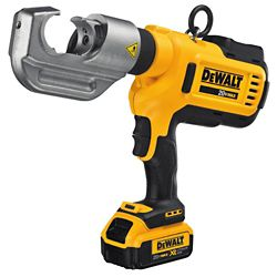 DEWALT 20V MAX Died Electrical Crimping Tool (4.0 Ah) with 2 Batteries and Kit Box