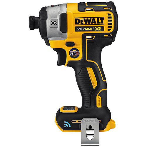 DEWALT 20V MAX XR with Tool Connect Premium Brushless Lithium-Ion 1/4-inch Hex Impact Driver (Tool Only)