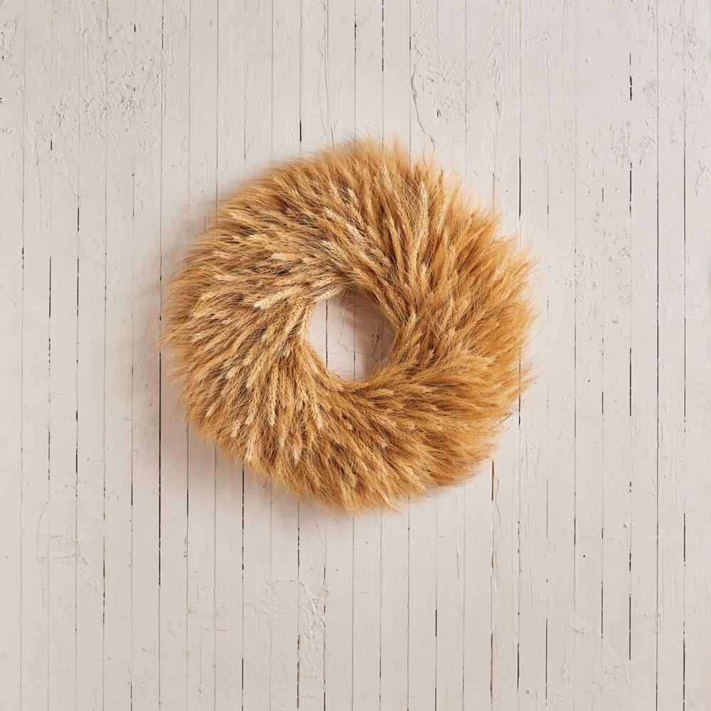 Manderley Turf Products Couronne de blé blonde naturelle