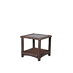 Mill Valley 22-inch Square Patio Accent Table