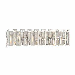 Designers Fountain Applique de salle de bain à 3 ampoules incandescentes, fini platine satiné