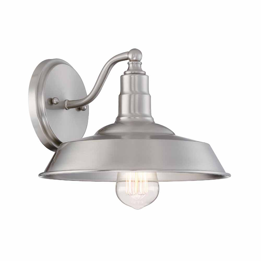 Light Wall Sconce Brushed Nickel