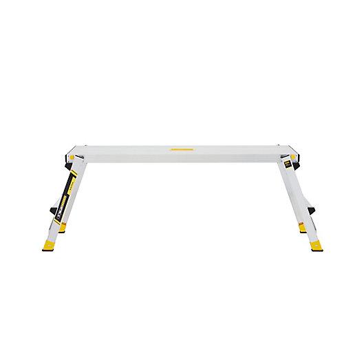 Aluminum Slim-Fold Work Platform with 300 lbs. Load Capacity