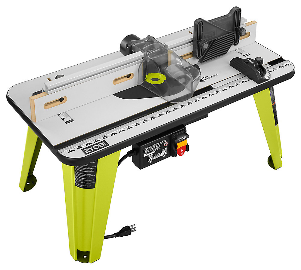 Ryobi Universal Router Table The Home Depot Canada