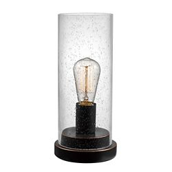 Globe Electric Tybalt 12-inch Oil Rubbed Bronze Table Lamp