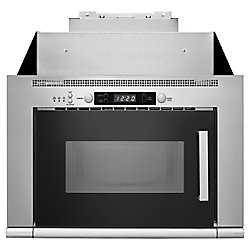 Whirlpool 24-inch 0.8 cu ft Over the Range Microwave in Stainless Steel