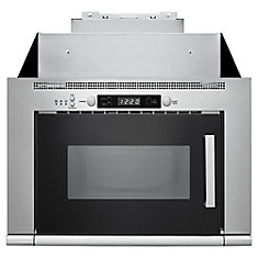 24-inch 0.8 cu ft Over the Range Microwave in Stainless Steel