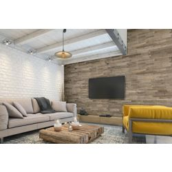 Expression Quebec Birch 14-inch x 44-inch Engineered Wall Panel (17.1 sq. ft./case)