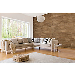 Expression Toronto Birch 14-inch x 44-inch Engineered Wall Panel (17.1 sq. ft./case)