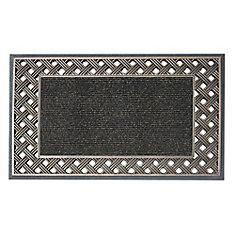 Engraved 18-inch x 30-inch Bronze Door Mat