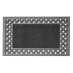 Floor Choice Engraved 18-inch x 30-inch Silver Door Mat