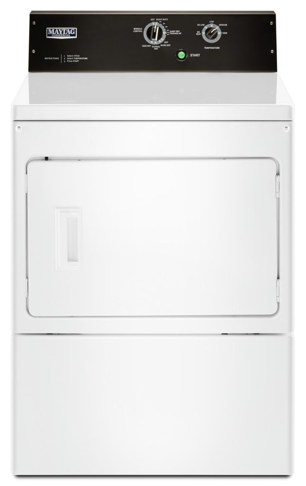 Maytag 7.4 cu.ft. Front Load Electric Dryer in White