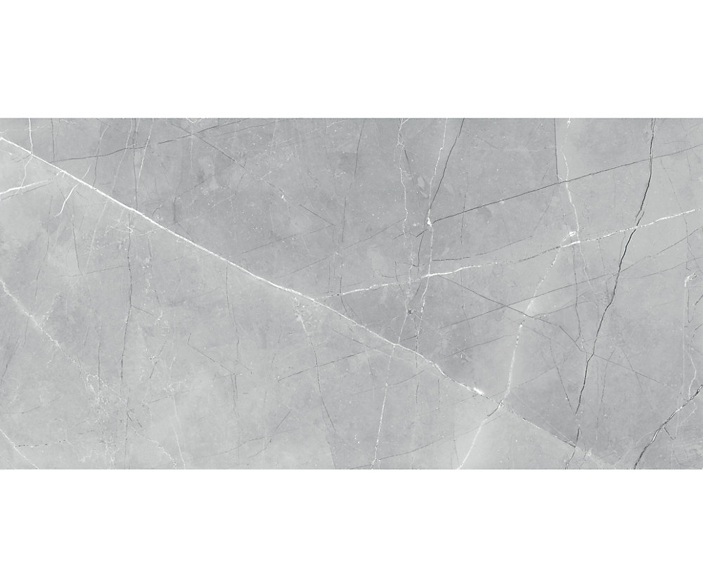 Pulpis Grey 12-inch x 24-inch HD Polished Rectified Porcelain Tile (15.5 sq.ft. / case)