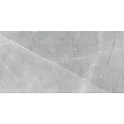 Enigma Pulpis Grey 12-inch x 24-inch HD Polished Rectified Porcelain Tile (15.5 sq.ft. / case)