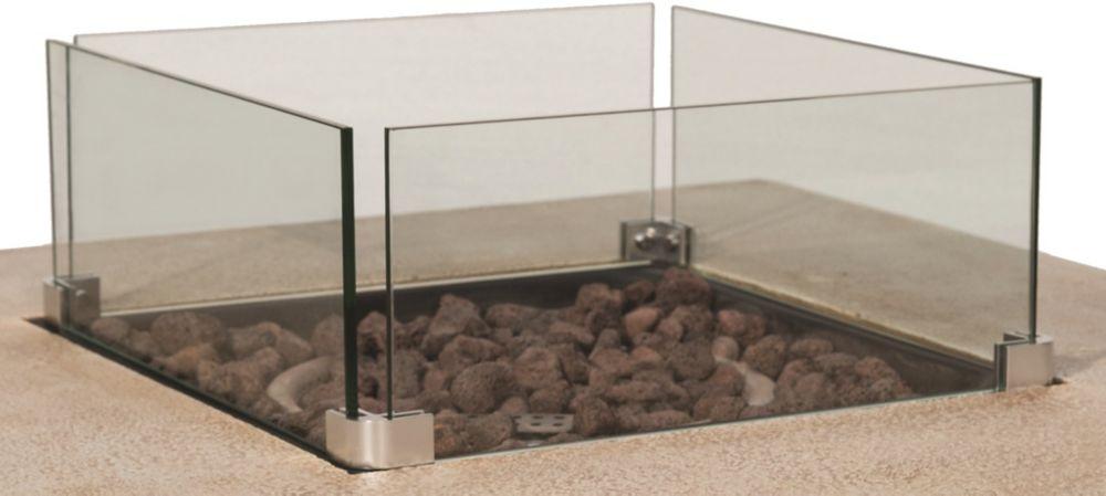 Bond Glass Shields For Brayden Modular Fire Table