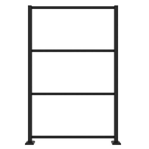 Barrette Dec Screen Panel Frame Kit in Matte Black