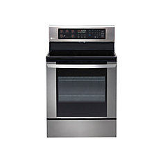 30-inch 6.3 cu.ft. Single Oven Electric Range in Stainless Steel