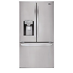 36-inch W 22 cu. ft. French Door Smart Refrigerator with Wi-Fi in Stainless Steel, Counter Depth - ENERGY STAR®