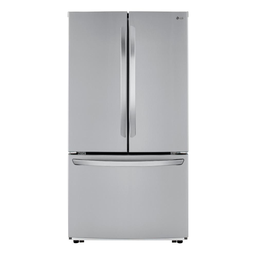 LG LFCC22426S 36-inch W 23 cu. ft. French Door Refrigerator in Stainless Steel, Counter Depth