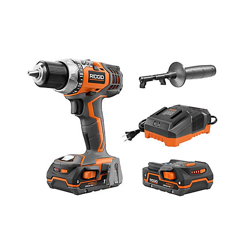 X4 18V 1/2-Inch Hyper Lithium-Ion Cordless Drill/Driver Kit with (2) 1.5Ah Batteries