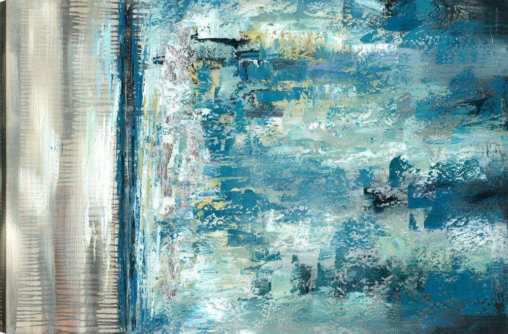 Abstrac Landscape Abstract Art Canvas Print Wall Art Decor 30x48 Ready To Hang